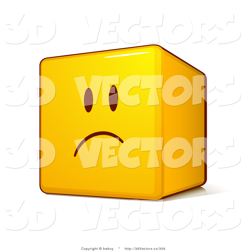 Upset Face Image Upset Yellow Smiley Face