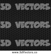 July 16th, 2014: Vector Clipart of a Black Mesh Metal Background by Elaineitalia