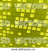 March 8th, 2014: Vector Clipart of a Green Tile Background by Elaineitalia