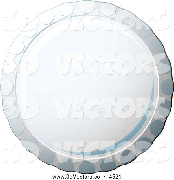 3d Vector Clipart of a Bottle Cap by michaeltravers - #4521